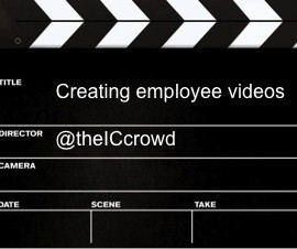 Crowd source: Employee video competitions